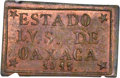 Mexico, Mexico: Oaxaca. Revolutionary - Provisional 3 Centavos 1915 MS64Red and Brown NGC,...