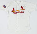 Baseball Collectibles:Uniforms, 1997 Matt Morris Game Worn St. Louis Cardinals Jersey With Team Letter. ...