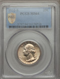 Washington Quarters: , 1932-S 25C MS64 PCGS Secure. PCGS Population (1021/132). NGCCensus: (626/70). Mintage: 408,000. Numismedia Wsl. Price for ...