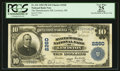 National Bank Notes:Maine, Lewiston, ME - $10 1902 Plain Back Fr. 631 The Manufacturers NB Ch.# 2260. ...