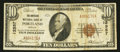 National Bank Notes:Oregon, Portland, OR - $10 1929 Ty. 1 The American NB Ch. # 12557. ...