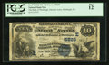 National Bank Notes:Pennsylvania, Pittsburgh, PA - $10 1882 Value Back Fr. 577 The Bank ofPittsburgh, National Assoc Ch. # (E) 5225. ...