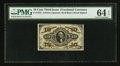 Fractional Currency:Third Issue, Fr. 1254 10¢ Third Issue PMG Choice Uncirculated 64 EPQ.. ...