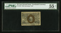 Fractional Currency:Second Issue, Fr. 1248 10¢ Second Issue PMG About Uncirculated 55 Net.. ...
