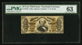 Fractional Currency:Third Issue, Fr. 1326 50¢ Third Issue Spinner PMG Choice Uncirculated 63.. ...