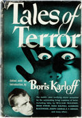 Books:Horror & Supernatural, [Horror]. Boris Karloff, editor. Tales of Terror. Cleveland: The World Publishing Company, [1945]. Fourth printing. ...