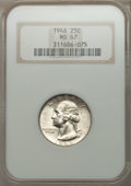 Washington Quarters: , 1946 25C MS67 NGC. NGC Census: (81/0). PCGS Population (21/0).Mintage: 53,436,000. Numismedia Wsl. Price for problem free ...