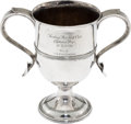 Golf Collectibles:Miscellaneous, 1895 Tooting Bec Golf Club Captain's Prize Sterling Trophy....