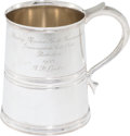 Golf Collectibles:Miscellaneous, 1953 Dunlop Masters Mug From Bobby Locke Estate....