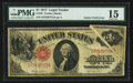 Error Notes:Large Size Errors, Fr. 36 $1 1917 Legal Tender PMG Choice Fine 15.. ...