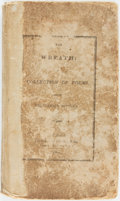 Books:Literature Pre-1900, [Slavery]. The Wreath: A Collection of Poems, from CelebratedEnglish Authors. New York: Solomon King, 1824. Twelvem...