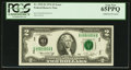 Error Notes:Major Errors, Fr. 1935-D $2 1976 Federal Reserve Note. PCGS Gem New 65PPQ.. ...