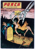 Golden Age (1938-1955):Crime, Punch Comics #13 (Chesler, 1945) Condition: VG-....