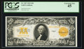 Large Size:Gold Certificates, Fr. 1187 $20 1922 Gold Certificate PCGS Extremely Fine 45.. ...