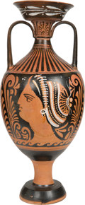 Antiquities:Greek, Antiquities: GREEK ITALY. Apulian Large Red-Figure Amphora. Ca.320-300 BC. ...