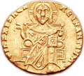 Ancients:Byzantine, Ancients: Constantine VII Porphyrogenitus (914-959) and Zoë, regent(AD 914-919). AV solidus (20mm, 4.18 gm, 6h). ...