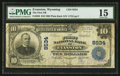 National Bank Notes:Wyoming, Evanston, WY - $10 1902 Plain Back Fr. 626 The First NB Ch. # 8534....