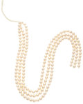 Estate Jewelry:Pearls, Cultured Pearl Hank. ...