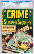 Golden Age (1938-1955):Horror, Crime SuspenStories #4 (EC, 1951) CGC VF/NM 9.0 Off-white to whitepages....