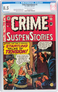 Golden Age (1938-1955):Crime, Crime SuspenStories #2 (EC, 1950) CGC VF+ 8.5 Off-white to white pages....