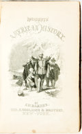 Books:Americana & American History, John Warner Barber. Incidents in American History...NewYork: George F. Cooledge, 1847. Third edition. Contemporary ...