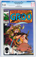 Modern Age (1980-Present):Humor, Groo the Wanderer #9 (Marvel/Epic, 1985) CGC NM/MT 9.8 Whitepages....