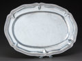 Silver Holloware, Mexican:Holloware, A MEXICAN SILVER TRAY, Sanborns, Mexico City, Mexico, circa 1950.Marks: SANBORNS, MEXICO, STERLING, 3. 3/4 x 17 x 12 in...