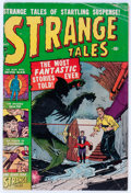 Golden Age (1938-1955):Horror, Strange Tales #3 (Atlas, 1951) Condition: VG-....