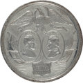 Political:Tokens & Medals, Lincoln & Johnson: Desirable Jugate Medal....