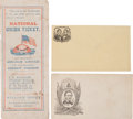 Political:Small Paper (pre-1896), Abraham Lincoln: Ballot and Covers....