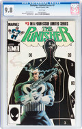 Modern Age (1980-Present):Superhero, Punisher (Limited Series) #3 (Marvel, 1986) CGC NM/MT 9.8 White pages....