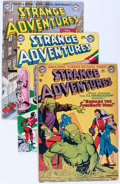 Golden Age (1938-1955):Science Fiction, Strange Adventures Group (DC, 1952-56) Condition: Average VG....(Total: 9 Comic Books)