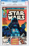 Modern Age (1980-Present):Science Fiction, Star Wars #35 (Marvel, 1980) CGC NM/MT 9.8 White pages....
