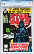 Modern Age (1980-Present):Science Fiction, Star Wars #39 (Marvel, 1980) CGC NM/MT 9.8 White pages....