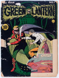 Golden Age (1938-1955):Superhero, Green Lantern #1 (DC, 1941) Condition: Incomplete....