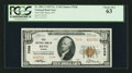 National Bank Notes:Nevada, Reno, NV - $10 1929 Ty. 2 First NB Ch. # 7038. ...
