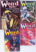 Pulps:Horror, Weird Tales Group (Popular Fiction, 1937-54) Condition: AverageFN/VF.... (Total: 4 Comic Books)