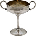 Golf Collectibles:Miscellaneous, 1917 Arkansas State Golf Association Sterling Runner Up Trophy....