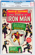 Silver Age (1956-1969):Superhero, Tales of Suspense #57 (Marvel, 1964) CGC NM- 9.2 Off-white to whitepages....