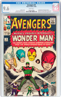 Silver Age (1956-1969):Superhero, The Avengers #9 (Marvel, 1964) CGC NM+ 9.6 White pages....
