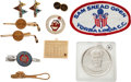 Golf Collectibles:Medals/Jewelry, 1980 PGA Championship Bag Tag & Various Jewelry From The SamSnead Collection....
