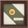 Golf Collectibles:Medals/Jewelry, 1989 Masters Tournament Contestant Badge From The Sam SneadCollection....