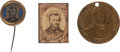 Political:Ferrotypes / Photo Badges (pre-1896), Ulysses S. Grant: Three Items....