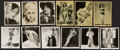 Non-Sport Cards:Sets, 1930's-40's British Pin Up/Movie Stars Complete Sets Trio (3)....