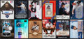 Autographs:Sports Cards, 2000's Baseball Stars & HoFers Autograph or Bat/Jersey SwatchCard Collection (12). ...