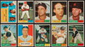Baseball Cards:Sets, 1961 Topps Baseball Collection (114) - With HoFers and All Uncirculated! ...
