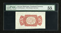 Fractional Currency:Third Issue, Fr. 1291SP 25c Wide Margin Back Specimen Third Issue PMG About Uncirculated 55. A beautiful example of this back specimen wh...