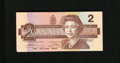 Canadian Currency: , BC-55b-i $2 1986 Fifty-eight Examples.. This is a well preservedrun of Twos.. ... (Total: 58 notes)