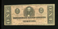 Confederate Notes:1864 Issues, T71 $1 1864. Healthy edges guard this Fine Southern veteran....