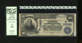 National Bank Notes:Virginia, Richmond, VA - $10 1902 Plain Back Fr. 628 The Central NB Ch. #(S)10080. The signatures are faded on this example. Late...